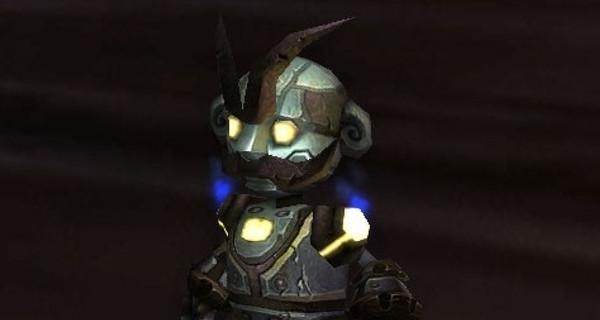 Un gnome mécanique pour la collection de jouets