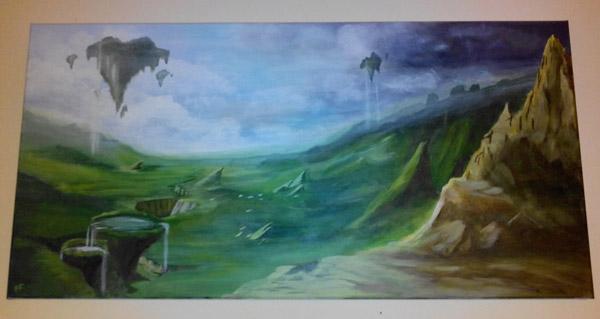 Nagrand en peinture