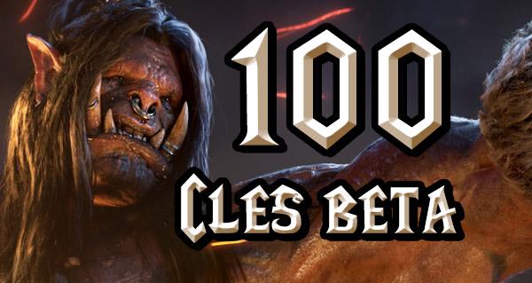 100 clés bêta Warlords of Draenor à gagner !