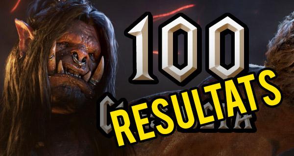Les vainqueurs des 100 clés bêta Warlords of Draenor