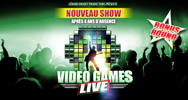 Concert Video Games Live : 3 places à gagner