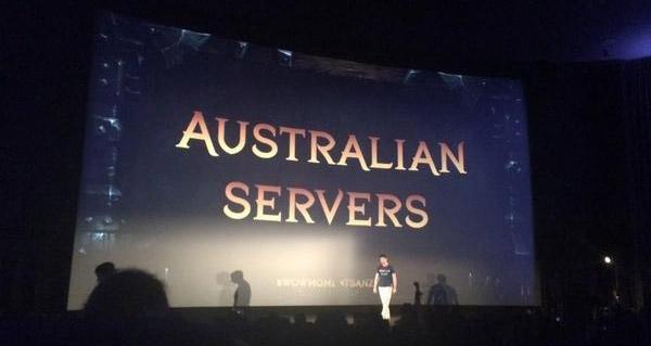Des serveurs australiens arrivent bientôt