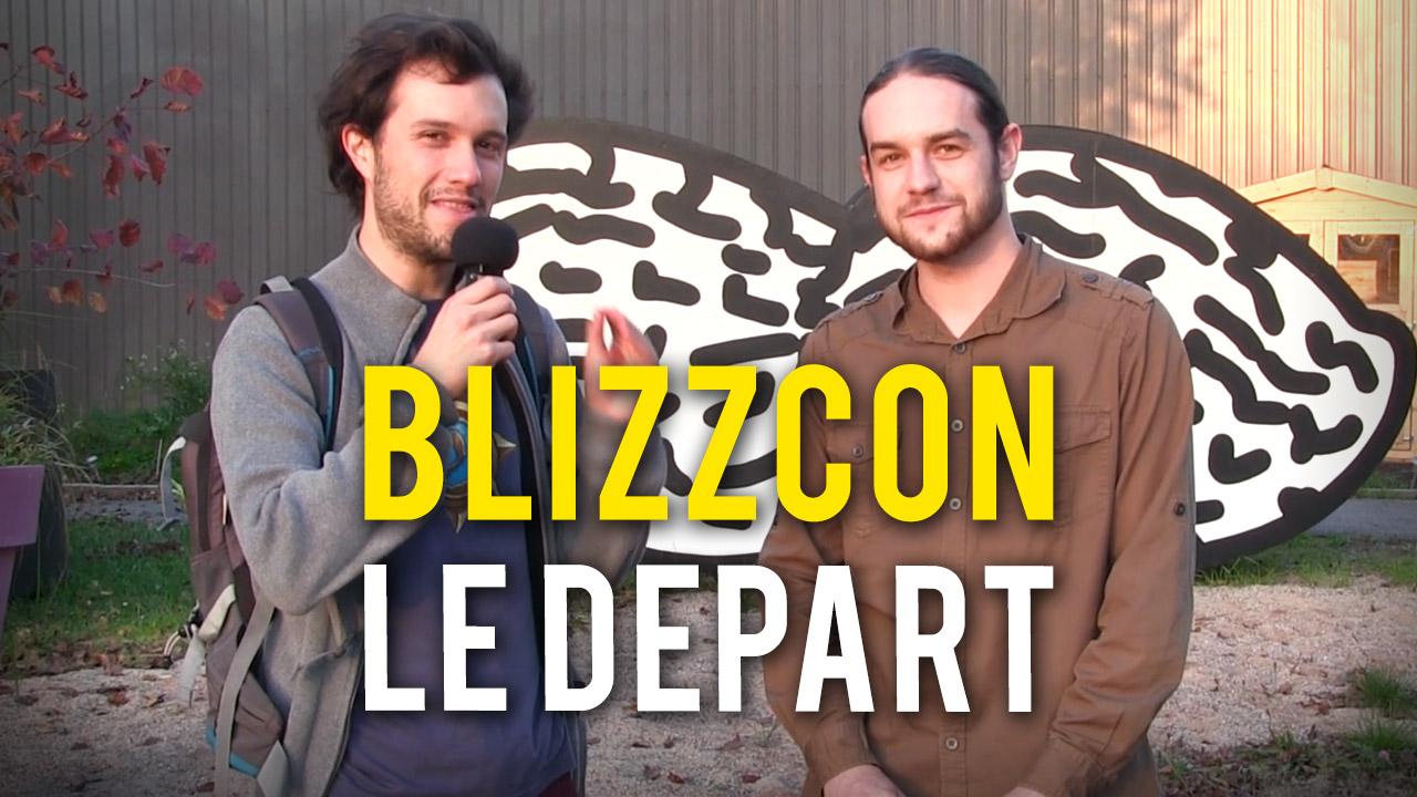 Le grand départ pour la Blizzcon 2014 !