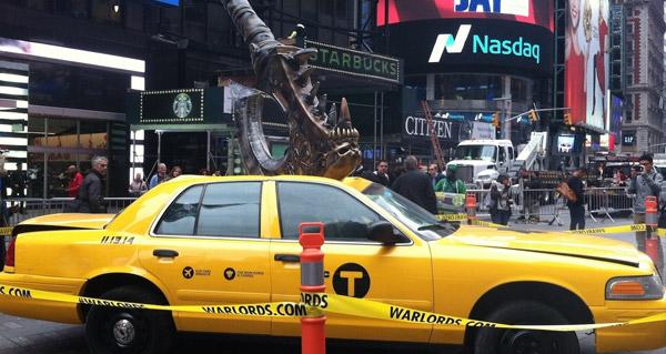 La Horde de Fer débarque à New-York !