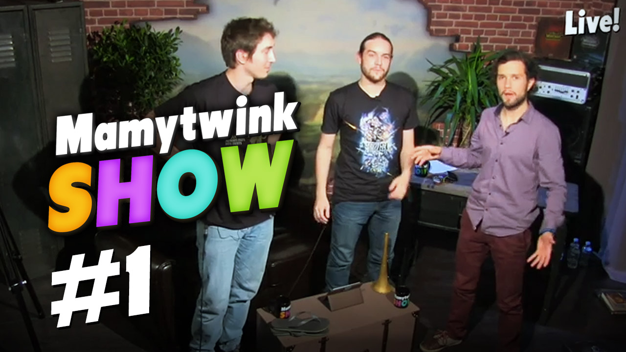 La VOD du Mamytwink Show #1 disponible !