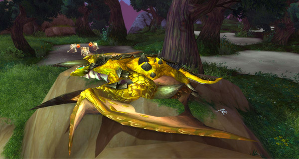 Proto-drake perdu dans le temps en Draenor