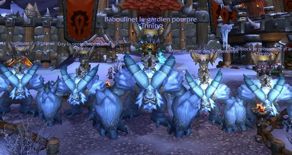 La guilde Trinity décroche l'or en mode défi