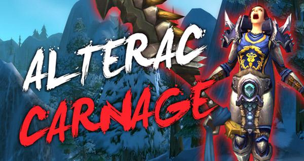 Gros carnage dans la Vallée d'Alterac