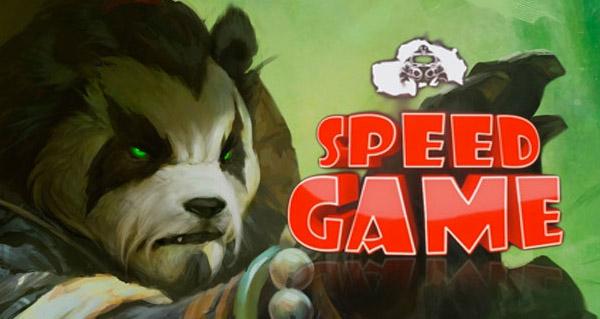 Speedgame World of Warcraft