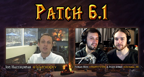 Patch 6.1 : Interview