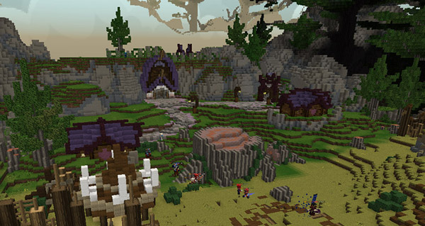 WoW dans Minecraft : Bassin d'Arathi