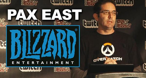 PAX East 2015 : Rediffusion de la conférence Blizzard