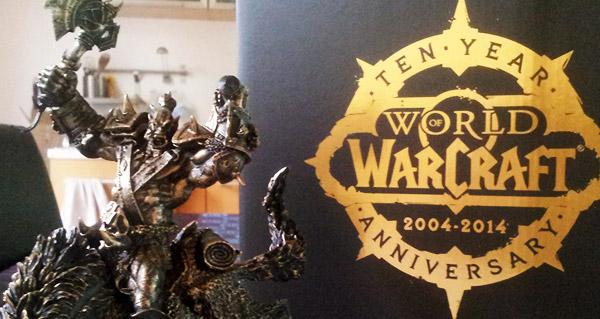 La statue 10 ans WoW