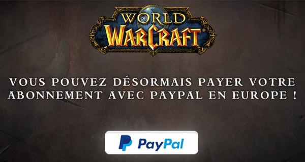 Payer son abonnement grâce à Paypal