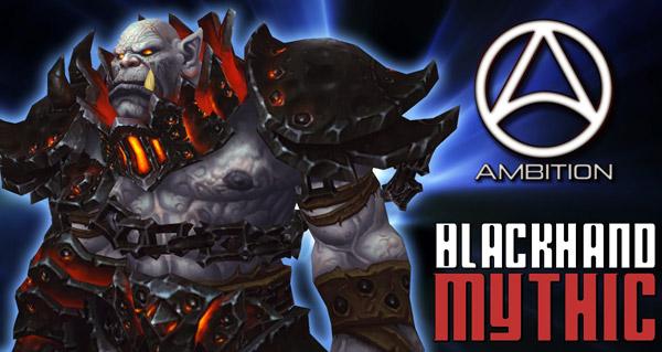 Blackhand (Mythic) vs Ambition par Suge