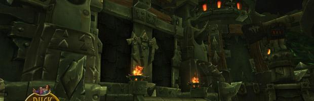 La Porte de la Citadelle des Flammes infernales