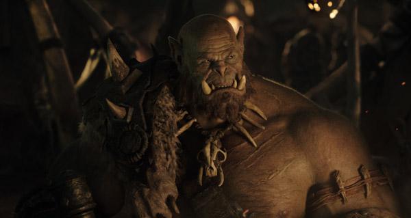 Premières images d'Orgrim dans le film