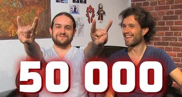 50 000 abonnés et événements à venir en juin