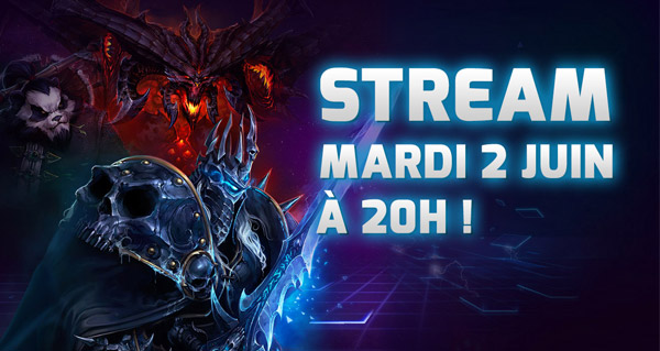Stream Heroes of the Storm ce soir à 20h