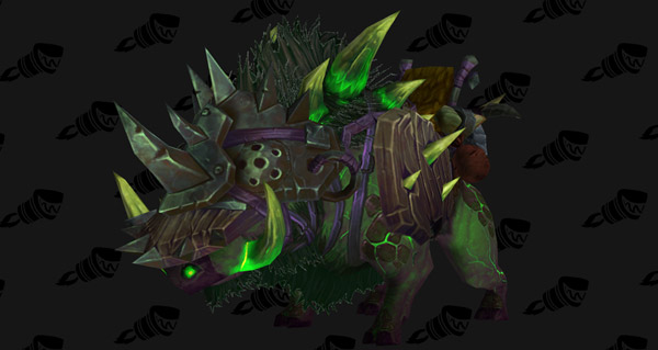 Les montures de faction patch 6.2