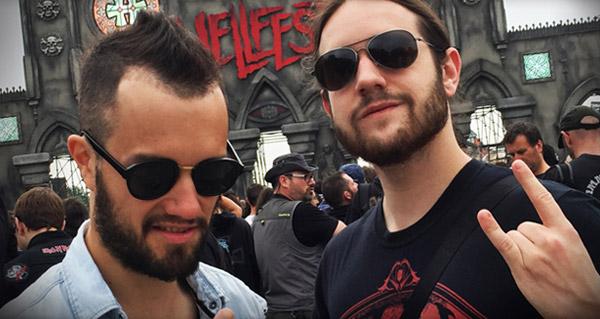 Mamytwink et Zecharia au Hellfest 2015