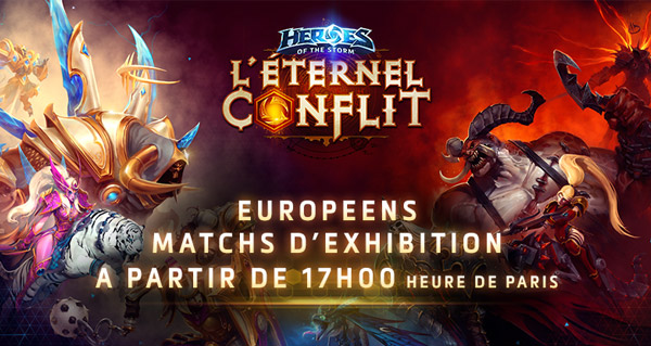 Matchs d'exhibition Heroes of the Storm