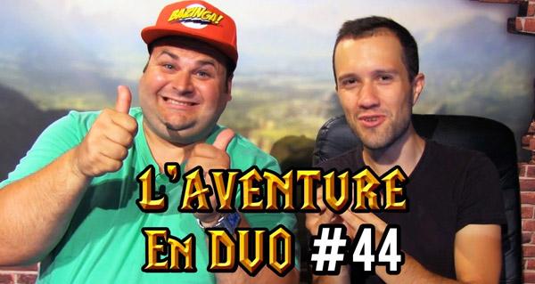 Nouvel épisode de l'aventure en duo