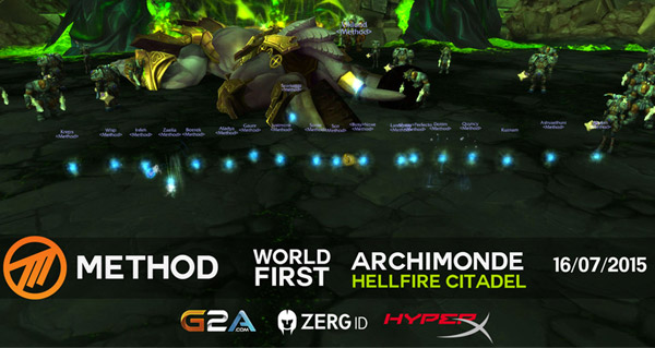 Method tombe Archimonde et remporte la course