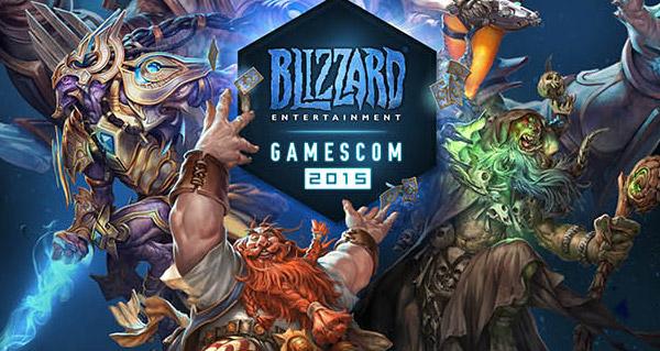 Gamescom 2015 : conférence Blizzard