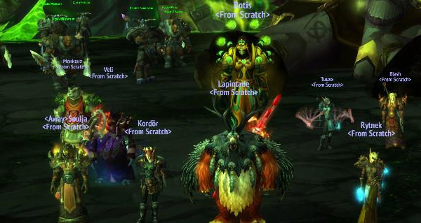 From Scratch tombe Archimonde