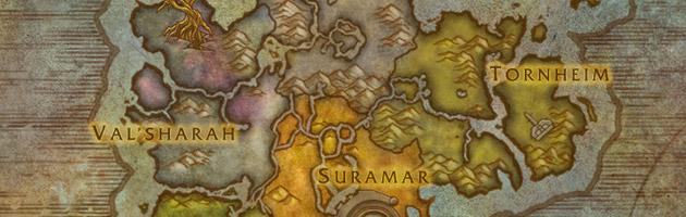 How to get to kalimdor from dalaran legion Dalaran Map on