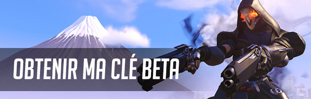Clé Beta Overwatch