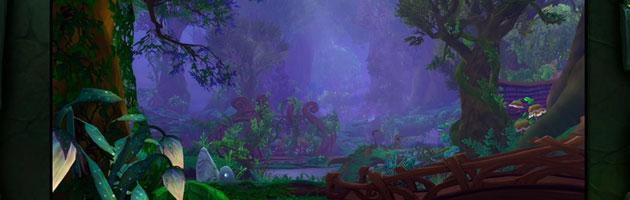 Le bosquet du rêve, hall de classe du Druide