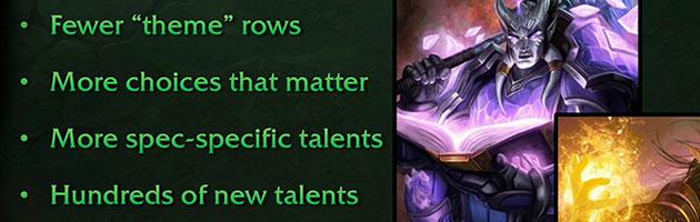 Légion - Classes New-talents