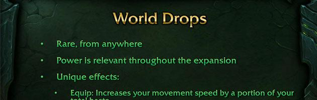 Le monde de Légion sera rempli de loots épiques