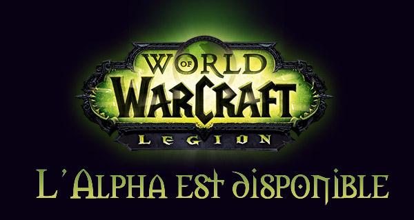 Début de l'Alpha de Legion