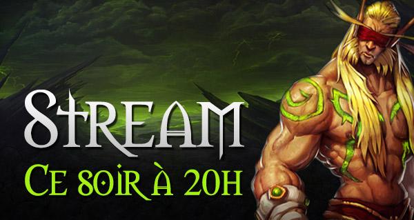 Stream Legion ce soir à 20h