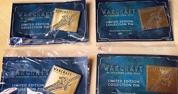 4 pins en édition limitée du film Warcraft à gagner