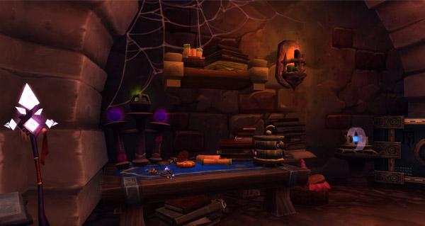 Legion : des images en jeu des catacombes de Karazhan