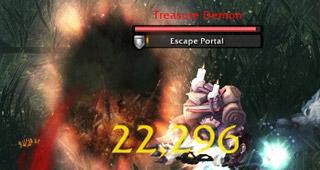 Un Gobelin aux trésors ouvre un portail