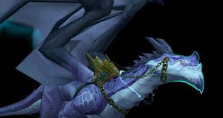 Première variante de la monture Storm Dragon