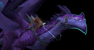 Troisième variante de la monture Storm Dragon