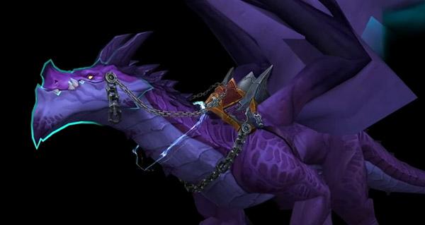 Legion : la monture Storm Dragon