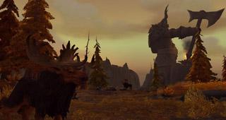 L'ambiance de la zone s'inspire de la mythologie scandinave