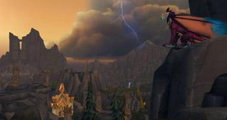 De nombreux dragons, les  Thorignirs, peuplent la zone