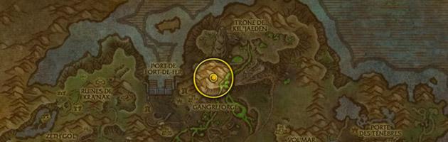 Vous pouvez trouver Skrillix dans une grotte au nord de la gangreforge