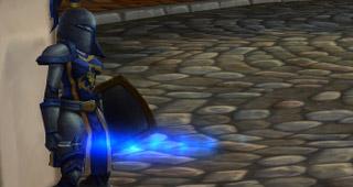 Les gardes de Hurlevent disposent d'un Sabre laser bleu