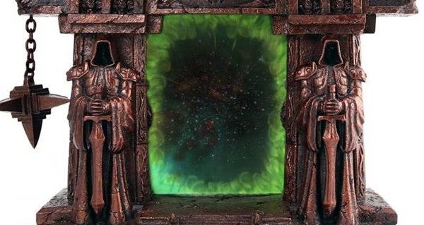 Cadre photo Porte des ténèbres