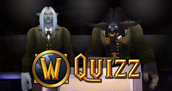 Quizz WoW par la Team G.O.
