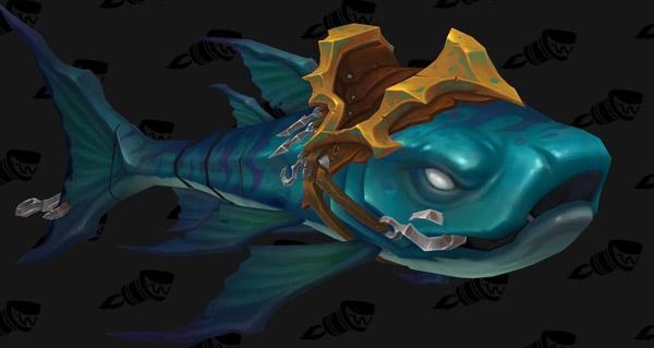Monture poisson et arme prodigieuse